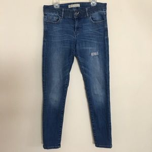 Zara Basic Z1975 Denim Jeans  Sz 4
